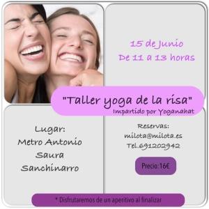 """Taller """"Yoga de la risa"""""""