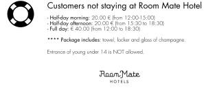 Precios acceso no guest hotel Rrom Mate Oscar