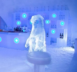 Ice bar del Snowcard hotel